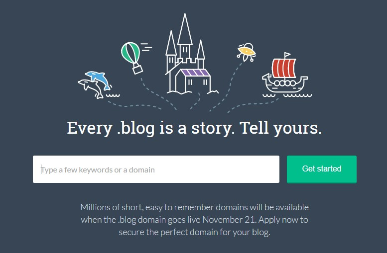 blog domain screenshot