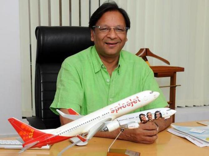 Ajay Singh CEO SpiceJet