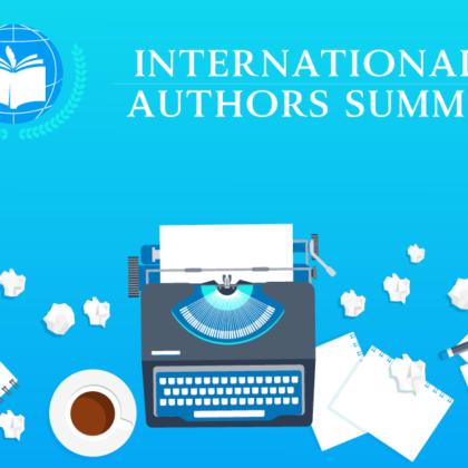Speaking at the International Authors Summit